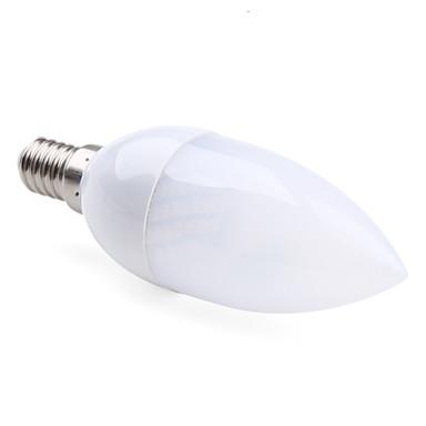 Foco LED Tipo Vela de Luz Blanca Tibia de 2800 - 3300 K de 70 a 100lm de 2.5W E14 / 220-240V
