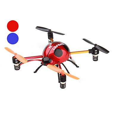 4-Channel Tumbling Remote Control Ladybug Aircraft with Gyro