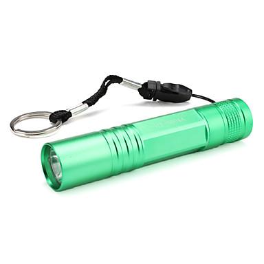 HT-5004A 1-Mode LED Flashlight (1xAA, Green)