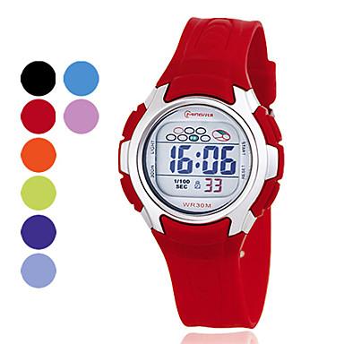 multi-funcionales de las mujeres pu digitales automáticas de relojes deportivos (color surtidos)