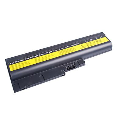 Laptop Battery for IBM T60 (11.1V, 5200 mAh, Black)