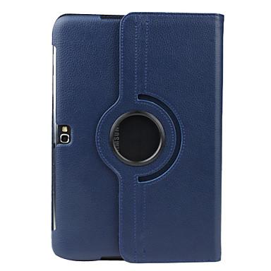 hoesje Voor Samsung Galaxy Samsung Galaxy Note met standaard Flip 360° rotatie Volledig hoesje Effen Kleur PU-nahka voor Note 10.1