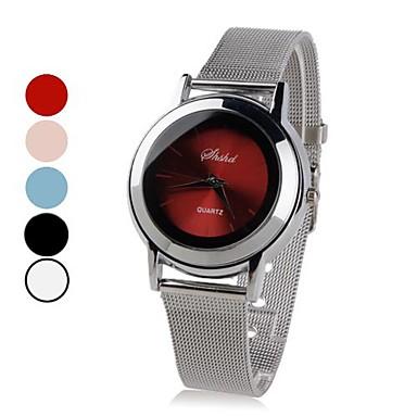 femmes en alliage montre-bracelet à quartz analogique (argent)