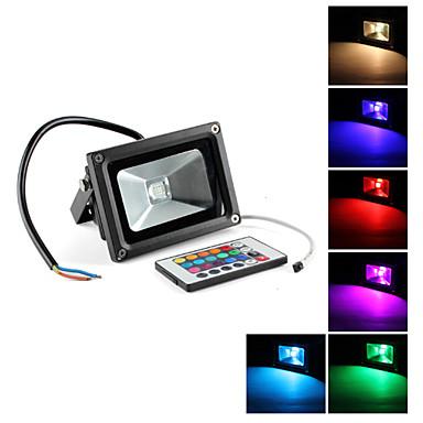 10 Spotlights (RGB/Fargeskiftende , Remote-kontrolleret AC 85-265