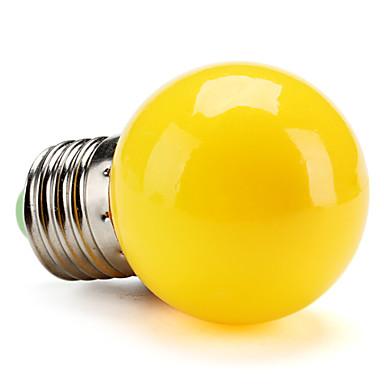 1 buc 1 W Bulb LED Glob 80 lm E26 / E27 G45 8 LED-uri de margele SMD 2835 Decorativ Galben 220-240 V / RoHs