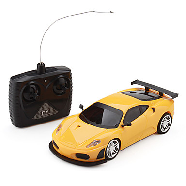 1:24 4-Channel Remote Control Sport Racing Car with Light (Random Color)