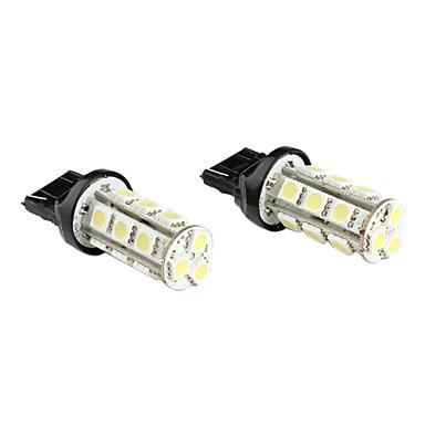 t20 9w 5050 SMD 18 liderada lâmpada de luz branca das lâmpadas de carro (2-pack, dv 12v)