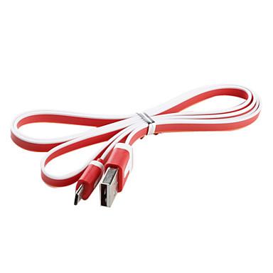Sincronização USB e cabo de carga para Samsung Galaxy S3 I9300 e outros (cores sortidas, 1M)