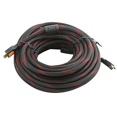 v1.3 HDMI macho a macho cable de conexión para la televisión de alta definición y más (15 m)