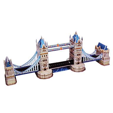 DIY Architektur 3D Puzzle britischen Tower Bridge (41pcs, Schwierigkeitsgrad 3 von 5)