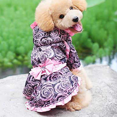 الشتاء - وردي قطن - الفساتين - الكلاب - XS / S / M / L / XL