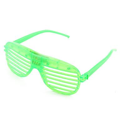 Plastic Funny 4-LED Glasses for Kids (Random Color)