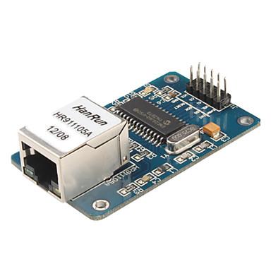 Enc28j60 lan ethernet netzwerk board modul 25 mhz kristall avr 51 lpc stm32 3,3 v