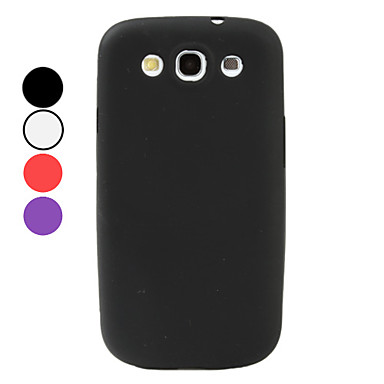 Simple Style Soft Case for Samsung Galaxy S3 I9300 (Assorted Colors)