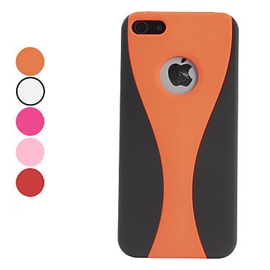 taça projeto fosco fosco caso duro para o iPhone 5/5s (cores sortidas)