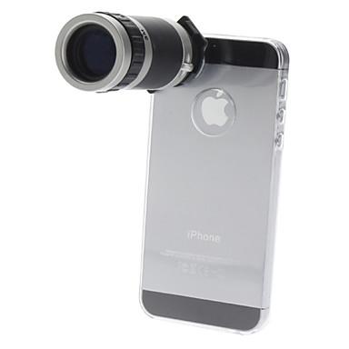 6x telescop cu obiectiv optic cu zoom optic pentru obiectivul telefonului mobil iPhone 5