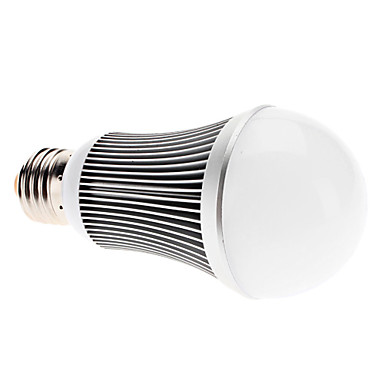 E26/E27 7 W 7 High Power LED 750 LM Warm White A Globe Bulbs AC 85-265 V