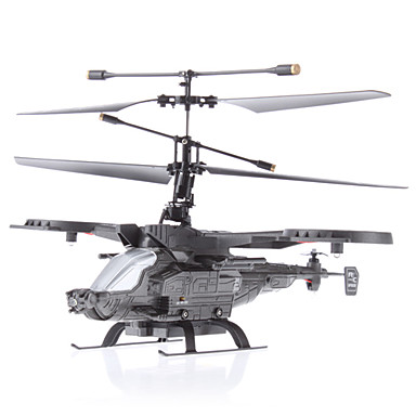 4-Channel 2.4G Remote Control Helicopter Fighter (Black)