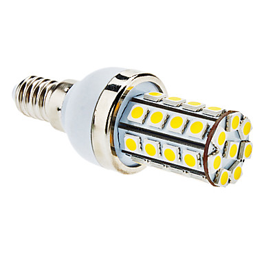 7W E14 LED Corn Lights T 36 SMD 5050 590 lm Warm White AC 85-265 V