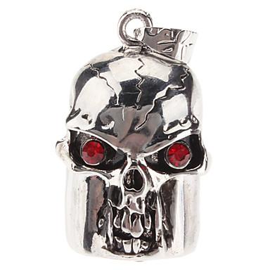 Cráneo 16GB Metal 5 Colgante USB 2.0 Flash Drive