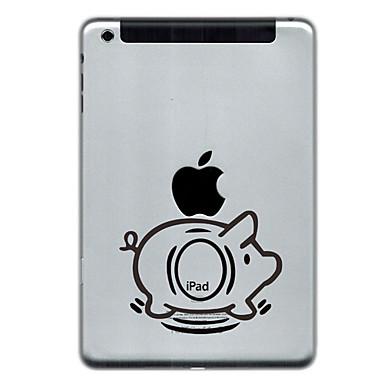 Pig Design Protector Sticker til iPad Mini