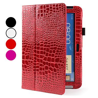 de protecție crocodil cazul PU pentru Samsung Galaxy Note 10.1 N8000