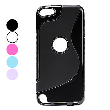 S Shape Soft TPU Case for iPod Touch 5 (Assorted Colors)