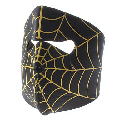 Spider Web Stil Motorrad / Wandern / Party Windproof Face Mask