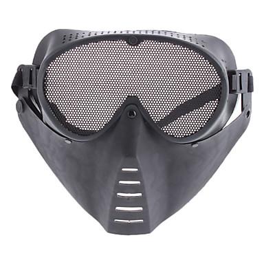 serin örgü yüz maskesi