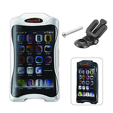 IBERA TPU Cycling Handheld Case with 4 inch Touchable Mobile Phone Screen (Q3 Clamp)