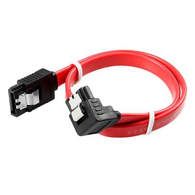 90 derece port SATA kablosu (0,5 m)