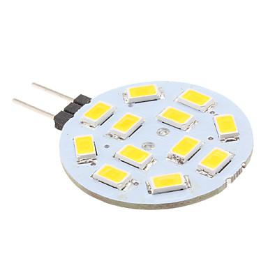 2w g4 ledli bi-pin ışıkları 12 smd 5630 240lm sıcak beyaz 2700k dc 12v
