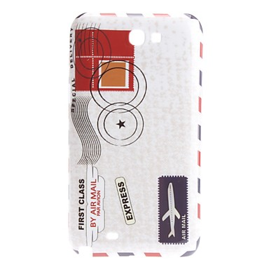 Envelope Design Hard Case for Samsung Galaxy Note 2 N7100