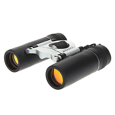 Black 20x21 Rubber+Plastic Binocular with A Nylon Bag and A Wiping Cloth