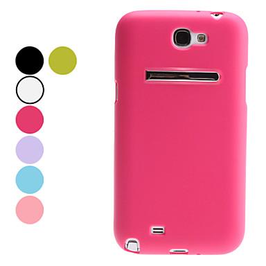 Special Design Soft Case mit Ständer für Samsung Galaxy Hinweis 2 N7100 (verschiedene Farben)