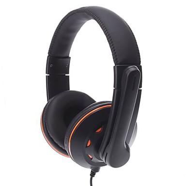 Ovleng Q5 Super Bass Stereo USB 2.0 cuffie con microfono per Skype & Gaming