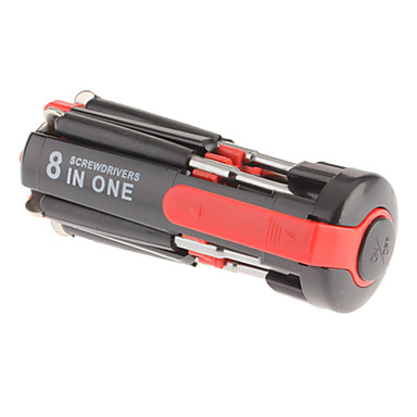 8-in-1 Mini Multi-Ruuviavain Tehokas taskulamppu