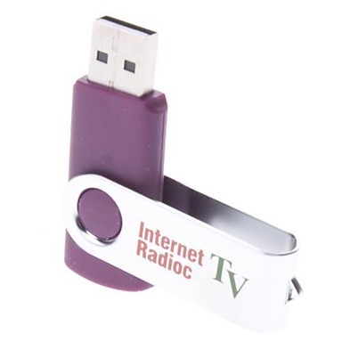 Worldwide USB Internet Radio & TV Player (colores surtidos)