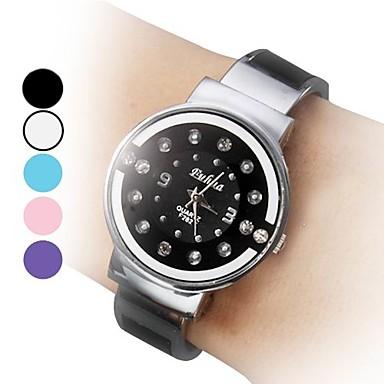 Women's Casual Style Quartz Steel Analog Bracelet Watch (Assorted Colors)