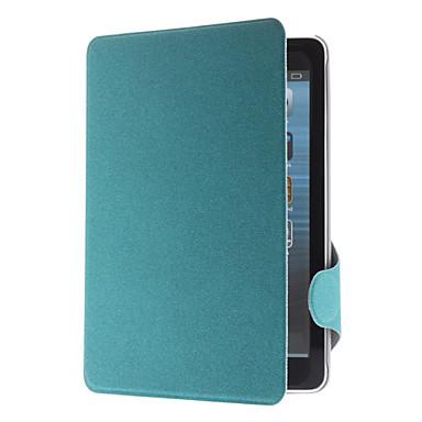 cassa di cuoio dell'unità di elaborazione microsolco w / stand e slot per schede per ipad mini 3, Mini iPad 2, ipad mini