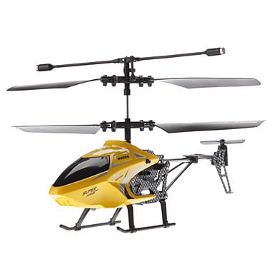 Palme Größe 2,5-Kanal-Fernbedienung Hubschrauber mit austauschbaren Rahmen (gelb, Modell: 8004)