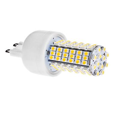 5W G9 LED a pannocchia T 102 SMD 3528 420 lm Bianco caldo AC 110-130 / AC 220-240 V