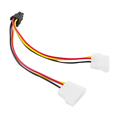 db 6pin ekran kartı kablosu db 4pin (15 cm)