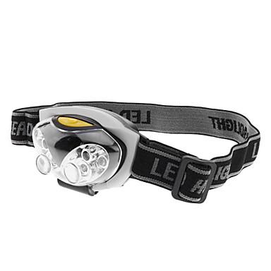 2モード6 LEDレッド+ホワイト·ライトヘッドライト(3xAAA)