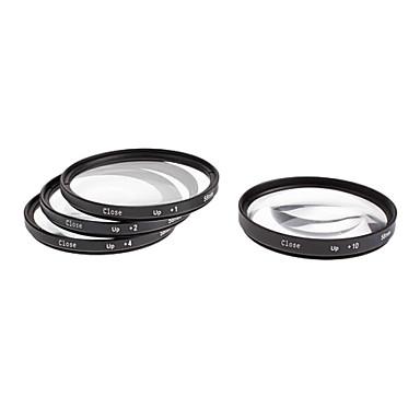 4pcs 58 millimetri Close-Up Kit Filtro per fotocamera con sacco filtrante (+1, +2, +4, +10)