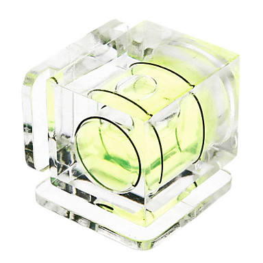 Hot Shoe En Axis Bubble Spirit Level for DSLR / SLR kameraer
