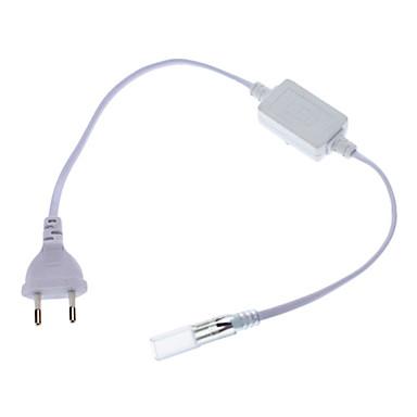 yüksek gerilim led şerit ışıklar için ab fiş dar konnektörü (220v)
