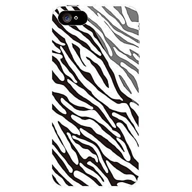 얼룩말 줄무늬 패턴 전면와 아이폰 5 백 스티커