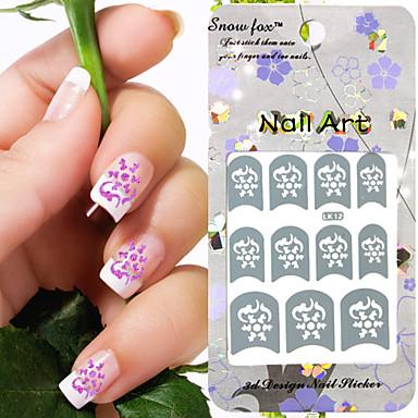 3 Nagel-Kunst-Dekoration Strassperlen Make-up kosmetische Nagelkunst Design