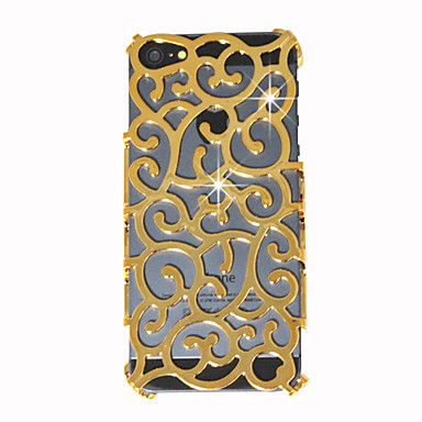 Hollow-Out Palace Decorative Pattern Back Cover for iPhone 5